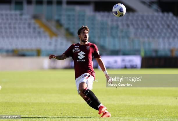 Simone Verdi of Torino FC in action during the Coppa Italia match between Torino Fc and Us Lecce. Torino Fc wins 3-1 over Us Lecce.
