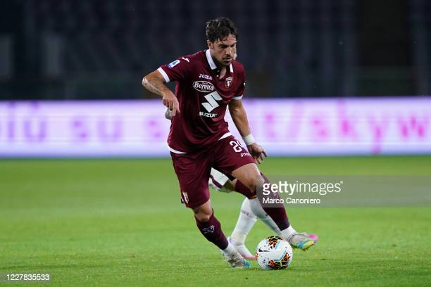Simone Verdi of Torino FC in action during the Serie A match between Torino Fc and As Roma As Roma wins 32 over Torino Fc