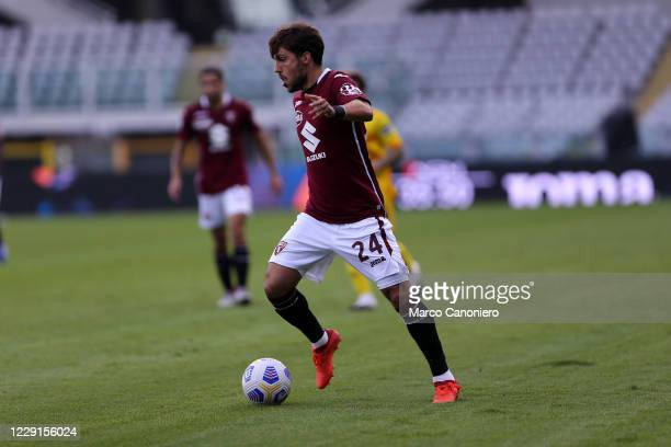 Simone Verdi of Torino FC in action during the Serie A match between Torino Fc and Cagliari Calcio Cagliari Calcio wins 32 over Torino Fc