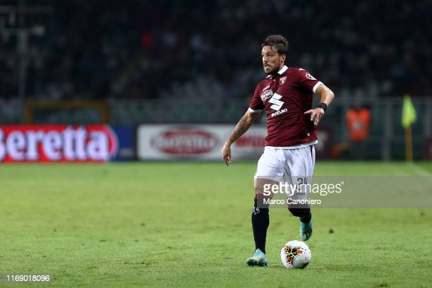 Simone Verdi of Torino FC in action during the the Serie A match between Torino Fc and Us Lecce. US Lecce wins 2-1 over Torino Fc.