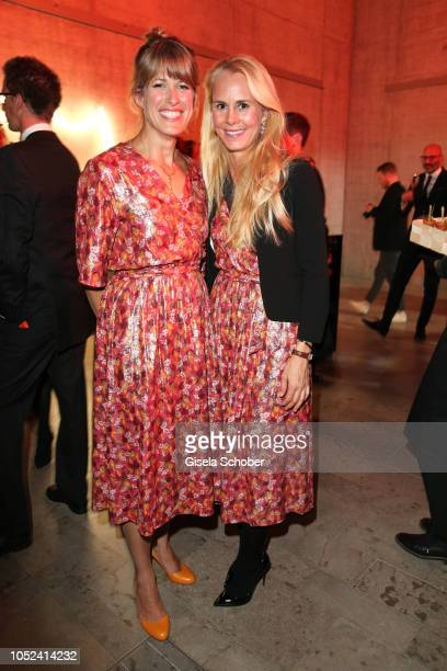 Simone Werle an Princess Nadja Anna zu SchaumburgLippe during the Dom Perignon 'The Legacy' event on October 17 2018 in Munich Germany