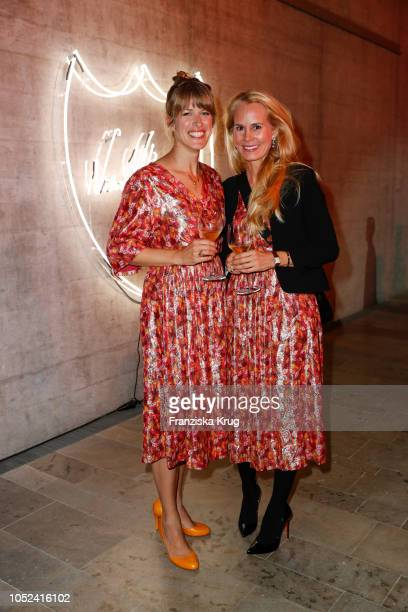 Simone Werle and Nadja zu SchaumburgLippe attend the Dom Perignon 'The Legacy' on October 17 2018 in Munich Germany