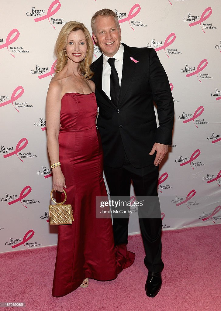 Simone Winston (L) and Ted Winston attend The Breast Cancer Foundation's 2014 Hot Pink Party at Waldorf Astoria Hotel on April 28, 2014 in New York City.