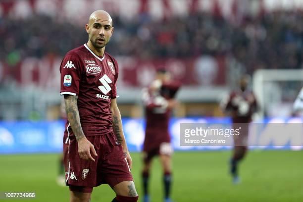 Simone Zaza of Torino FC during the Serie A football match between Torino Fc and Genoa Cfc Torino Fc wins 21 over Genoa Cfc