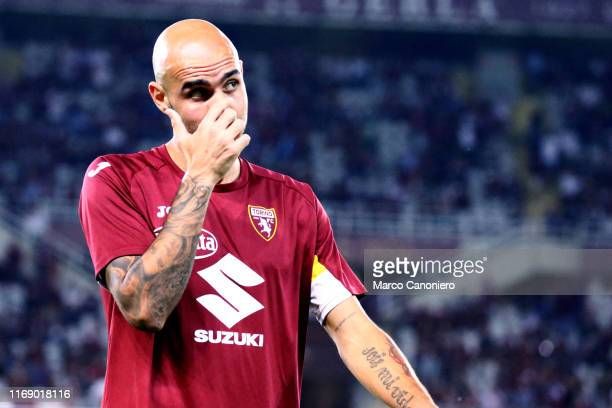 Simone Zaza of Torino FC during the the Serie A match between Torino Fc and Us Lecce US Lecce wins 21 over Torino Fc