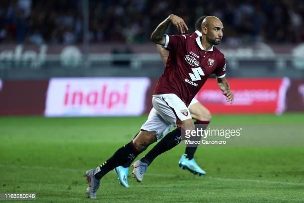 Simone Zaza of Torino FC during the UEFA Europa League playoff first leg football match between Torino Fc and Wolverhampton Wanderers Fc...