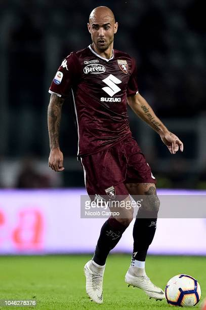 Simone Zaza of Torino FC in action during the Serie A football match between Torino FC and Frosinone Calcio Torino FC won 32 over Frosinone Calcio