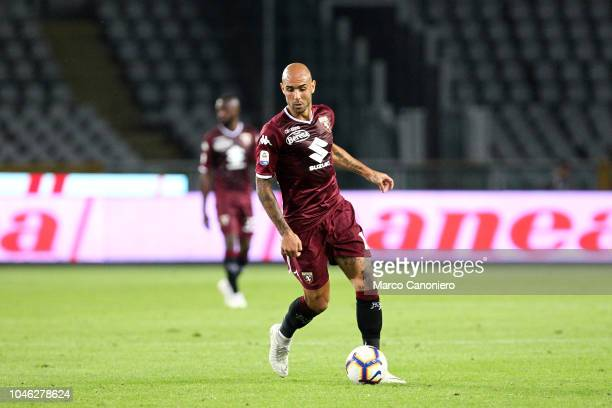 Simone Zaza of Torino FC in action during the Serie A football match between Torino Fc and Frosinone Calcio Torino Fc wins 32 over Frosinone Calcio