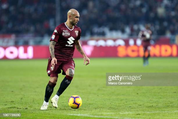 Simone Zaza of Torino FC in action during the Serie A football match between Torino Fc and Genoa Cfc Torino Fc wins 21 over Genoa Cfc
