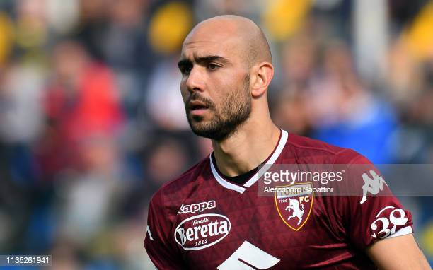 Simone Zaza of Torino FC reacts during the Serie A match between Parma Calcio and Torino FC at Stadio Ennio Tardini on April 6 2019 in Parma Italy
