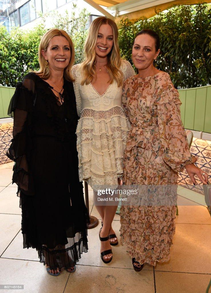 Nicky Zimmermann And Margot Robbie Host Intimate Dinner To Celebrate The Launch Of The Zimmermann London Flagship Store Opening