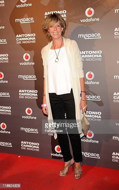 Simoneta Gomez Acebo attends Antonio Carmona concert at Joy Eslava on July 12 2011 in Madrid Spain