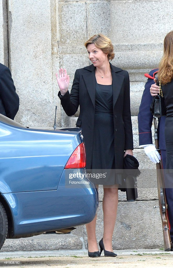 Spanish Royals Attend Corpore Insepulto Mass For Carlos de Borbon dos Sicilias