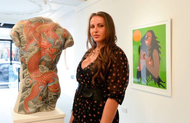 "GBR: ""Millennials"" By Digital Art Investments Platform ARTCELS At HOFA Gallery London - Press View"