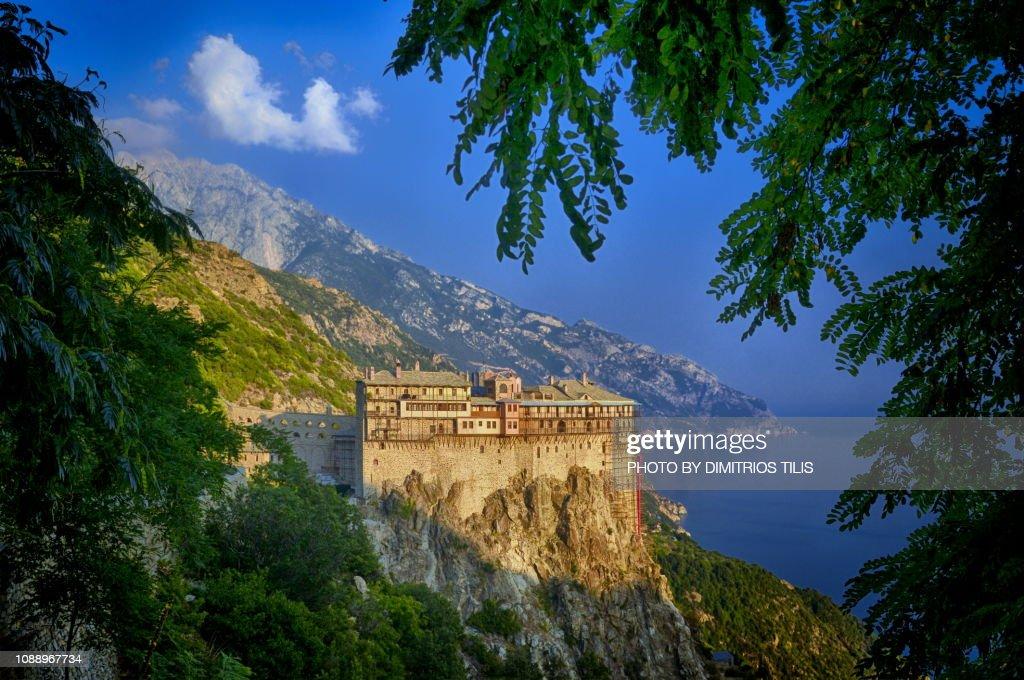 Simonopetra Monastery : Stock Photo