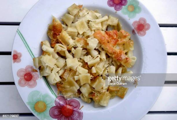 simple cheese pasta bake - course meal stock pictures, royalty-free photos & images