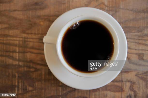 Simple coffee shot