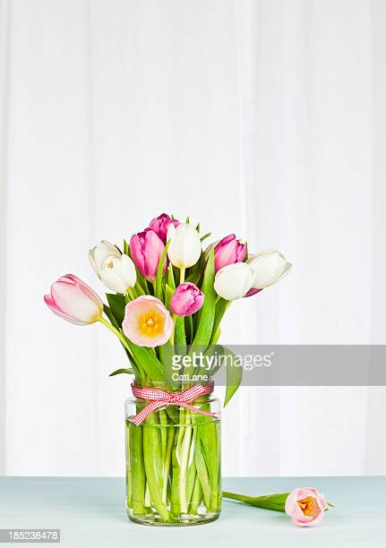 Simple Flower Arrangement with Copyspace