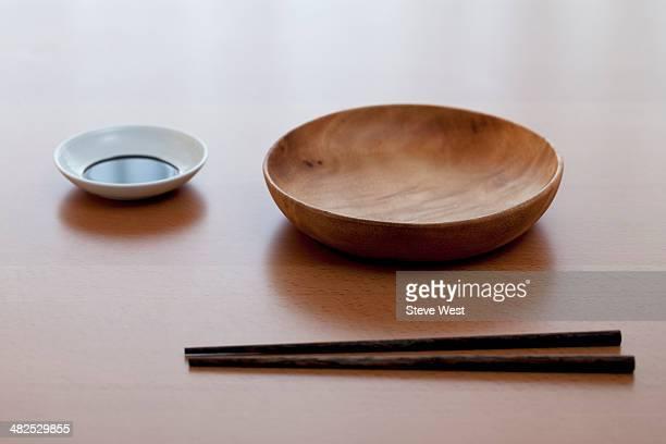 Simple Japanese Dish Setting