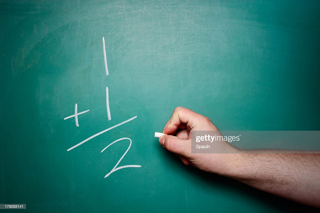 Simple Math Problem Stock Photo | Getty Images