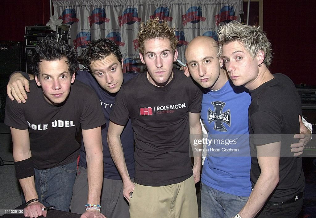 "DJ Qualls and Simple Plan at ""The New Guy"" Party"