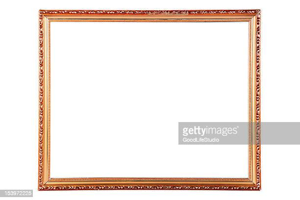 simple rectangular frame - mirror frame stock photos and pictures