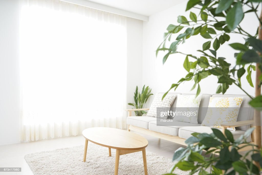 Simple room with nobody : Stock Photo