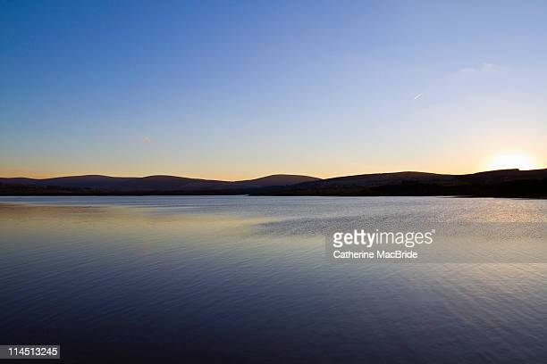 Simple water and sky landscape