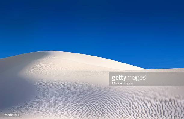 Simple white sand dunes