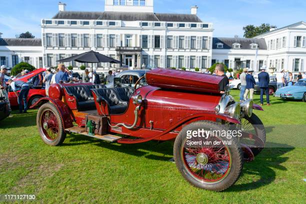 Simplex Crane Model 5 Sport Speedster vintage pre war 1916 classic car on display at the 2019 Concours d'Elegance at palace Soestdijk on August 25...