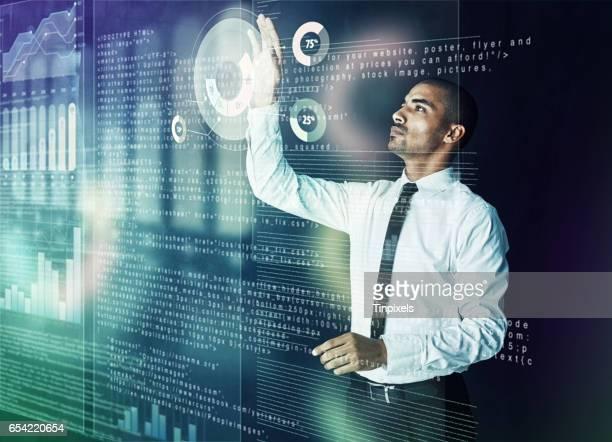 Vereenvoudiging van het complex via cyberspace