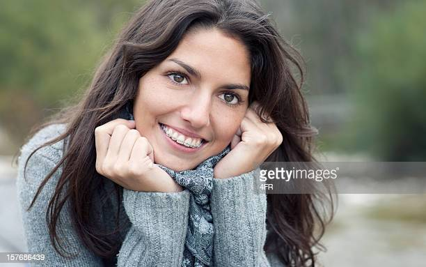 Simply Beautiful, Candid Braces Smile (XXXL)