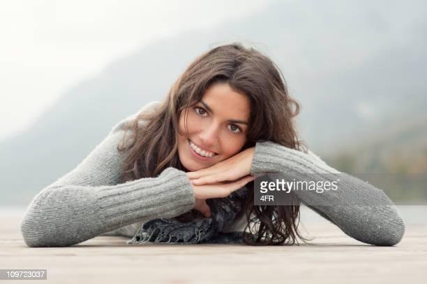 Einfach traumhaft selbstbewusst Zahnspange Lächeln (XXXL