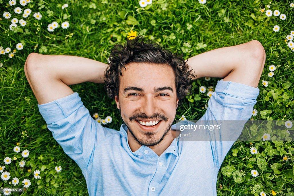 Einfach glücklich : Stock-Foto