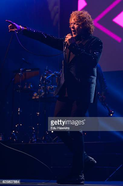 Simply Red perform at Wembley Arena on November 25 2016 in London England