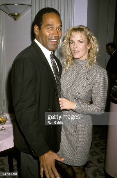 OJ Simpson and Nicole Brown Simpson at the Waldorf Astoria Hotel in New York City New York