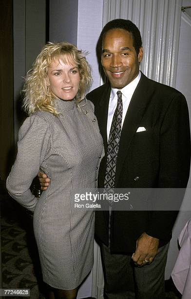 OJ Simpson and Nicole Brown Simpson