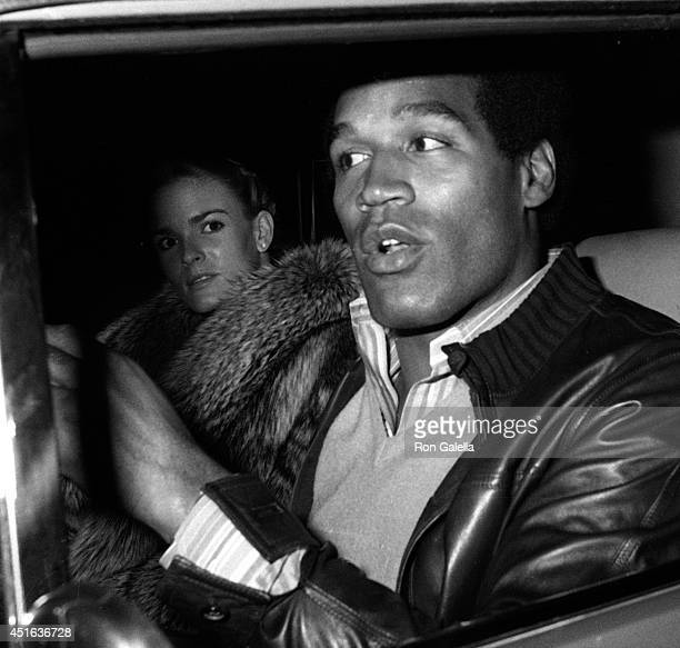 Simpson and Nicole Brown Simpson sighted on January 7, 1981 at Stellini's Restaurant in Beverly Hills, California.