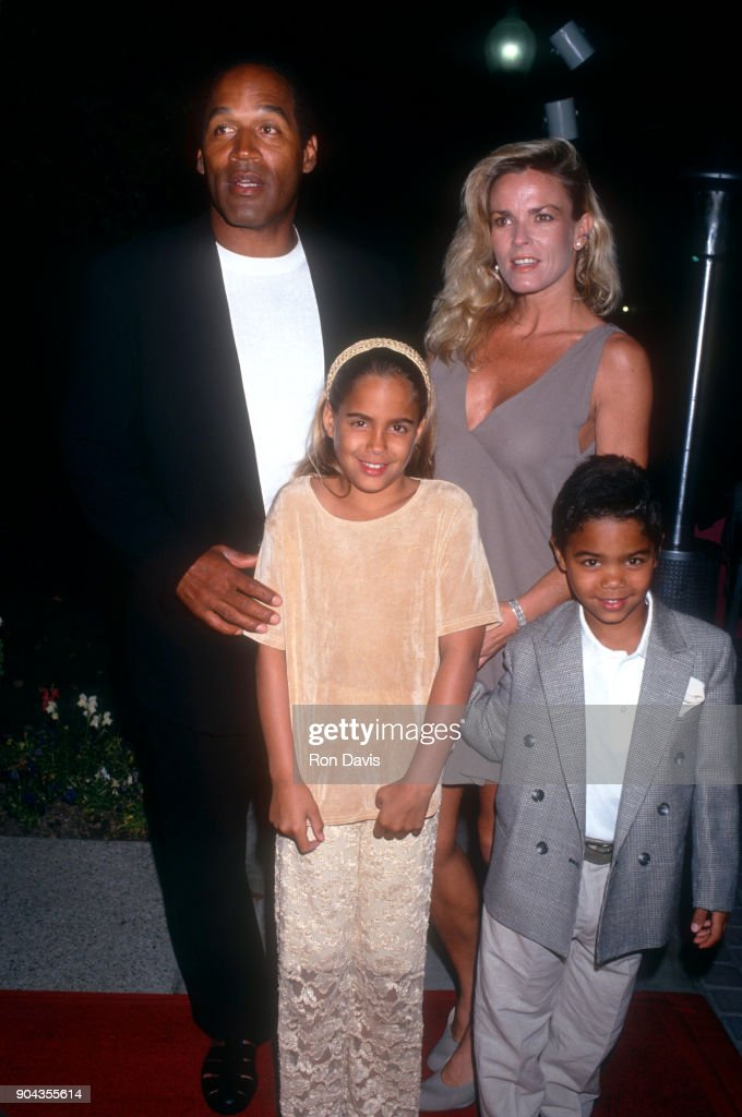 O.J. Simpson and Nicole Brown Simpson during Fight Against