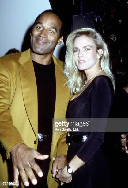 OJ Simpson and Nicole Simpson