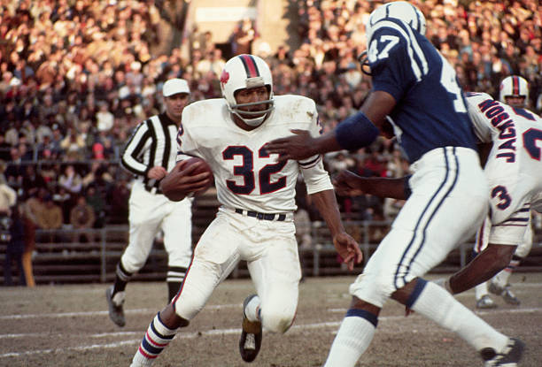 O.J. Simpson Carrying the Football