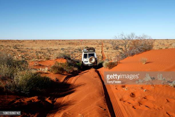 simpson desert, australia. - south australia stock photos and pictures