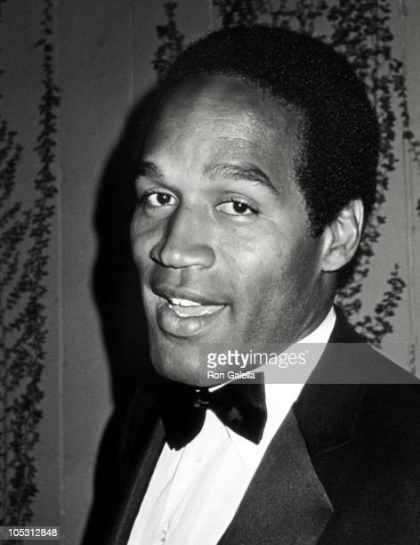 OJ Simpson during Oscar Viewing Party at Ma Maison Restaurant in Hollywood California United States