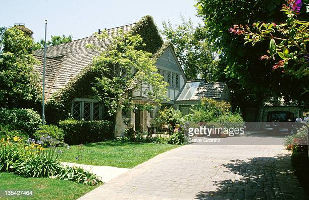 OJ Simpson House during OJ Simpson File Photos at Los Angeles in Los Angeles California United States