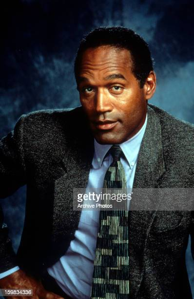 Simpson in publicity portrait for the film 'Naked Gun 33 1/3: The Final Insult', 1994.