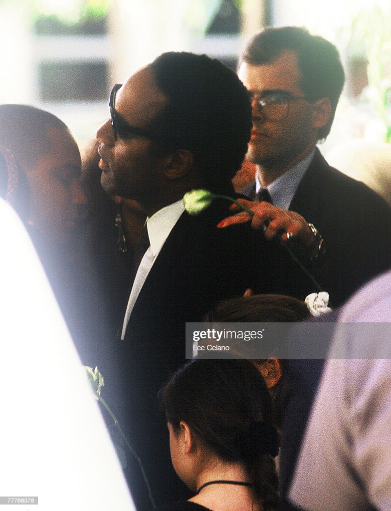Funeral of Nicole Brown Simpson : News Photo