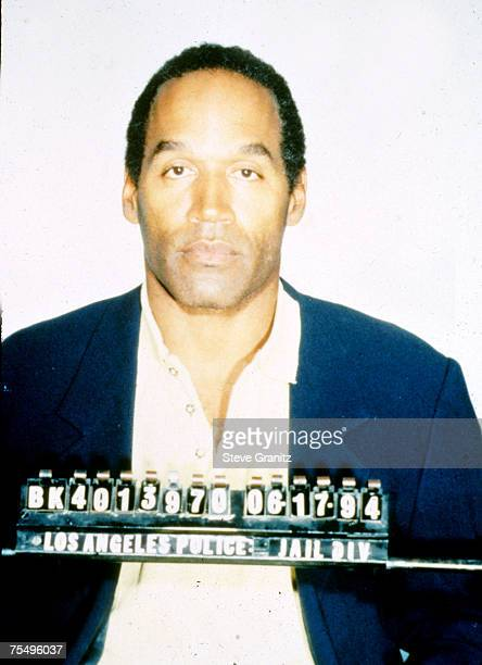 OJ Simpson Mug Shot at the Los Angeles in Los Angeles California
