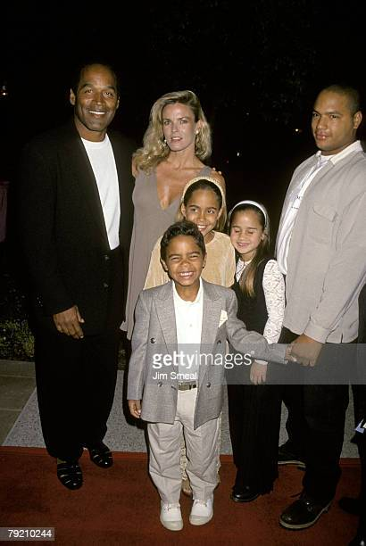OJ Simpson Nicole Brown Simpson and children
