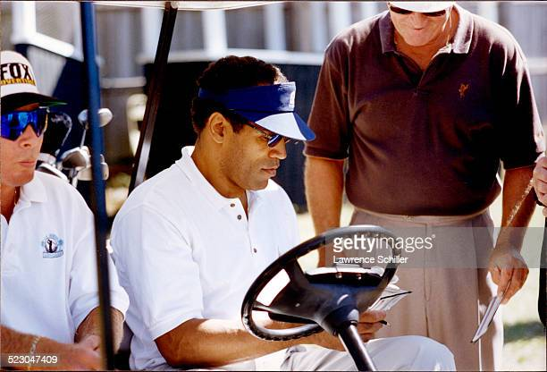 J Simpson on the golf course in Florida weeks after his acquittal
