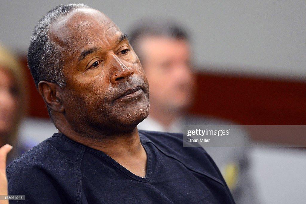 O.J. Simpson Seeks Retrial In Las Vegas Court - Day 5 : News Photo
